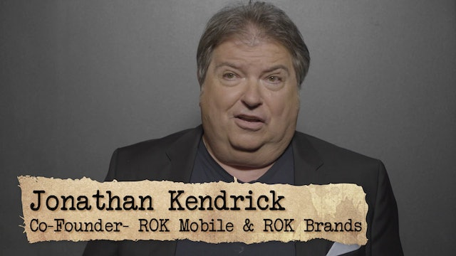 Founder Logic: Jonathan Kendrick Co-Founder of ROK Mobile and ROK Brands