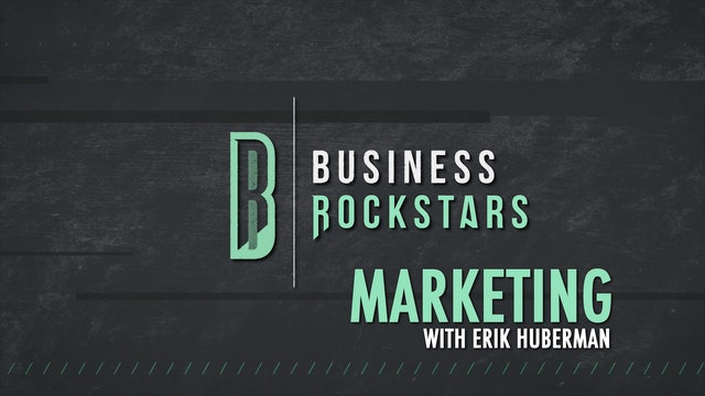 Business Rockstars Marketing with Erik Huberman