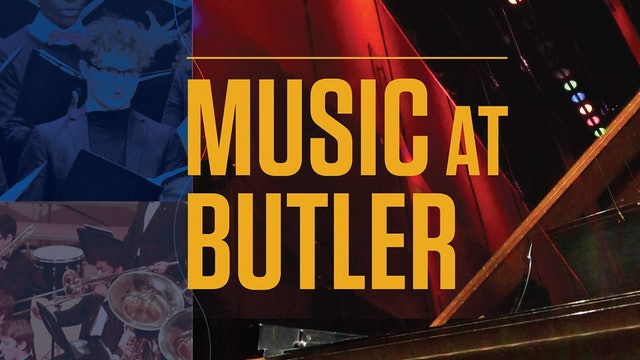 Butler University Generations Ensemble featuring Jared Schonig