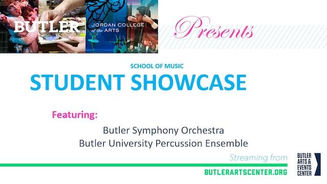 Butler Symphony Orchestra & Butler Percussion Ensemble