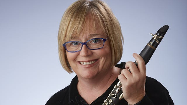 Trina Gross, clarinet