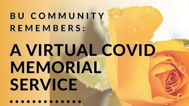 BU Community Remembers: A Virtual COV...