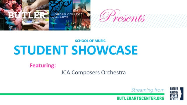 The JCA Composers Orchestra Showcase