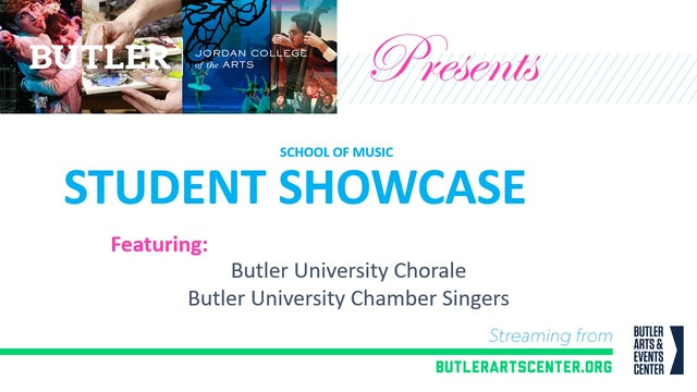 Music at Butler Presents: The Butler University Choirs (part 1)