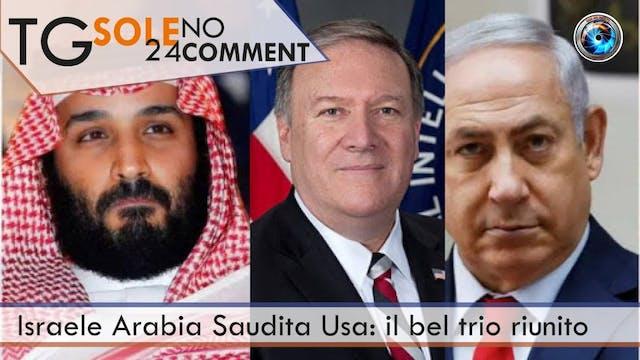 TgSole24 NoComment 23.11.20 | Israele...
