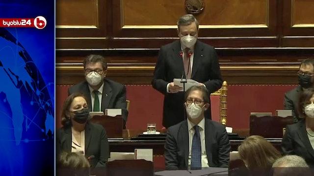 DRAGHI: CHI STA CON ME DEVE ACCETTARE L'IRREVERSIBILITÀ DELL'EURO