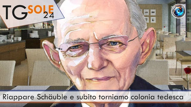TgSole24 26.01.21 | Riappare Schäuble...