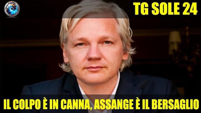 TgSole24 25.09.20 | Il colpo è in canna, Assange è il bersaglio