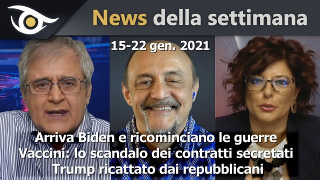 Arriva Biden e ricominciano le guerre - News 22 Gen 2021
