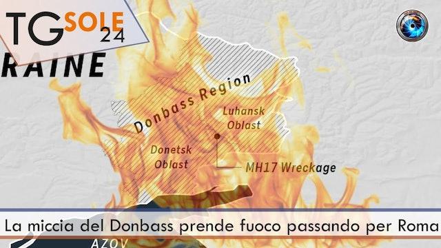 TgSole24 1.04.21 | La miccia del Donbass prende fuoco passando per Roma