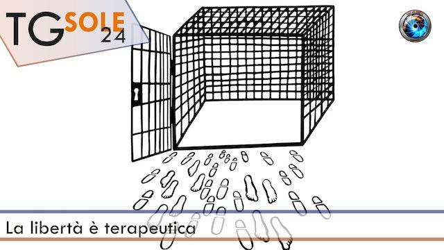 TgSole24 15.03.21 | La libertà è terapeutica