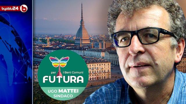 FUTURA, LA LISTA CIVICA PER I BENI COMUNI A TORINO, CANDIDATO SINDACO UGO MATTEI