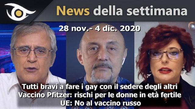 Tutti bravi a fare i gay con il sedere degli altri - News 28 Nov - 4 Dic 2020