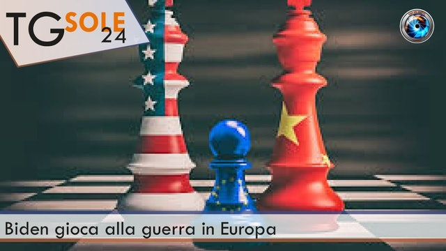 TgSole24 09.04.21 | Biden gioca alla guerra in Europa