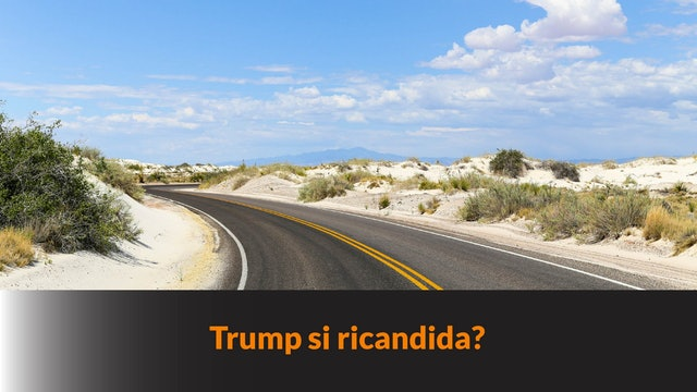 TRUMP SI RICANDIDA?