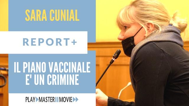 Il piano vaccinale è un crimine – Sara Cunial