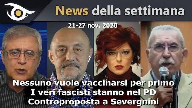 Nessuno vuole vaccinarsi per primo - News Settimana 21-27 Nov 2020