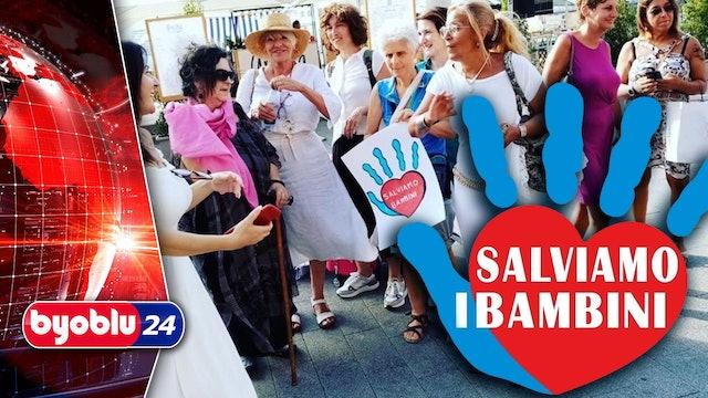 IN MARCIA CONTRO LA DITTATURA SANITARIA – TG #Byoblu24