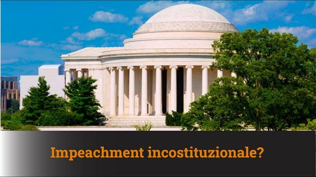 3-2-2021 Impeachment incostituzionale...