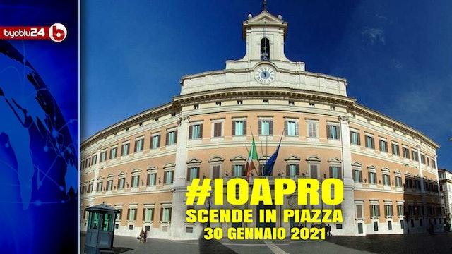 #IOAPRO SCENDE IN PIAZZA – Giustino D'Uva #Byoblu24