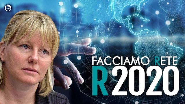 R2020 La diretta da Roma dell'evento promosso da Sara Cunial