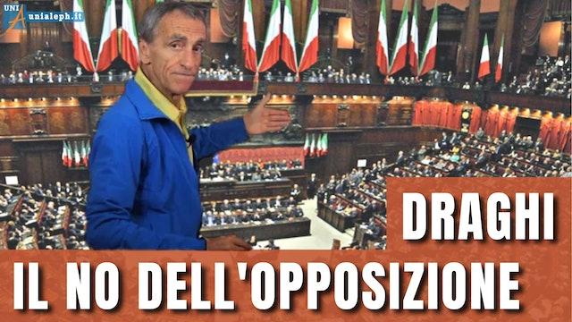 Gli italiani dovrebbero dire NO a Draghi