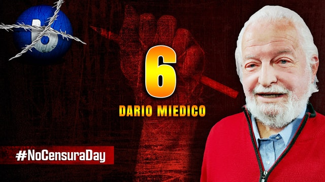 #NoCensuraDay BASTA CON LA PSEUDO SCIENZA DI GIORNALI E TV - Dario Miedico