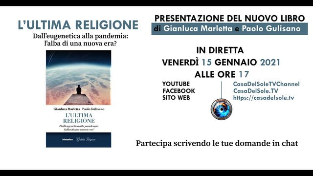DIRETTA | L'ULTIMA RELIGIONE di Gianl...