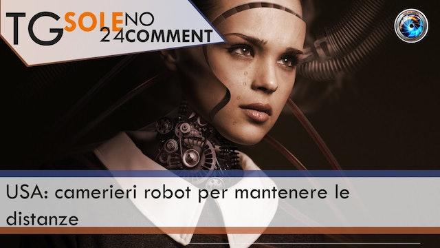 TgSole24 NoComment 16.02.21 | USA: camerieri robot per mantenere le distanze