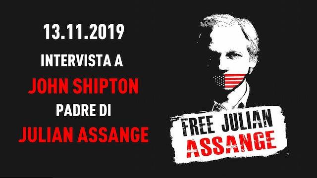 Intervista John Shipton, padre di Julian Assange
