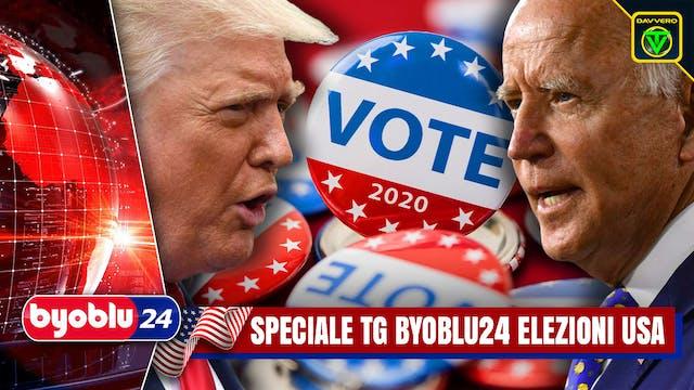 TG BYOBLU24 | SPECIALE ELEZIONI USA LIVE