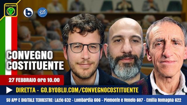 CONVEGNO COSTITUENTE 2021 – Toscano, Fusaro, Scardovelli