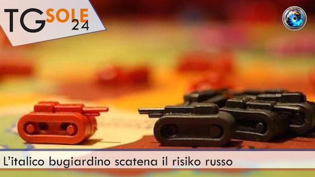 TgSole24 31.03.21 | L'italico bugiardino scatena il risiko russo