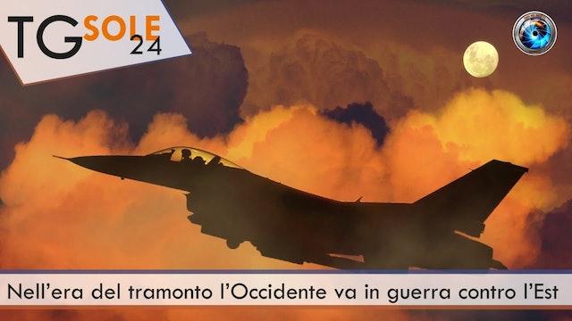 TgSole24 26.03.21 | Nell'era del tramonto l'Occidente va in guerra contro l'Est