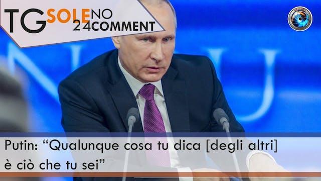 TgSole24 Nocomment 18.03.21 | Putin: ...