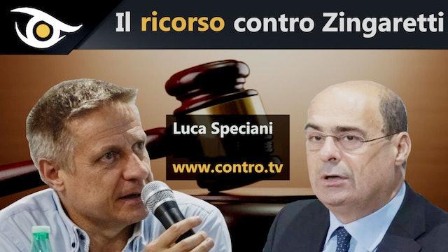 Luca Speciani - Il ricorso contro Zingaretti