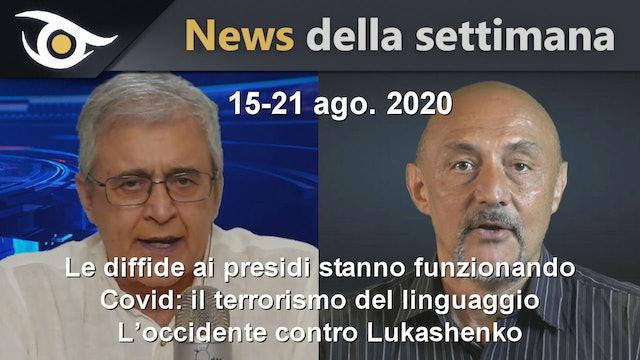 LE DIFFIDE AI PRESIDI STANNO FUNZIONANDO - News settimana 15/21 Agosto 2020