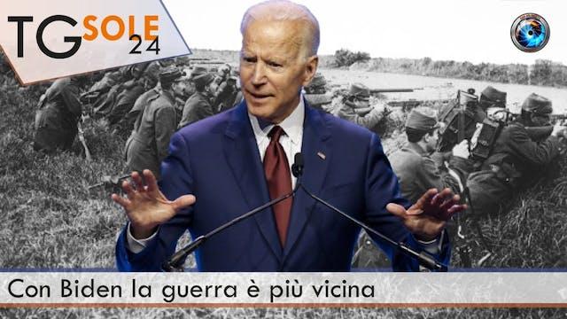TgSole24 09.11.20 | Con Biden la guer...