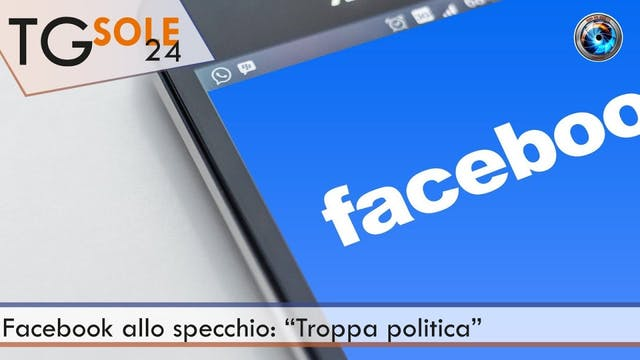 TgSole24 02.02.21 | Facebook allo spe...