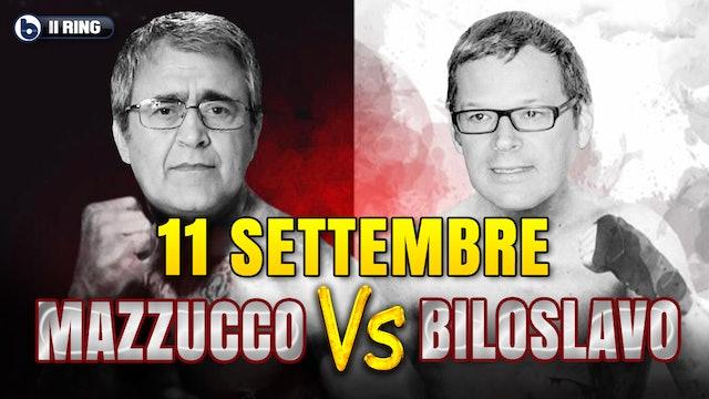 IL RING - 11 SETTEMBRE 2001   MAZZUCCO VS BILOSLAVO