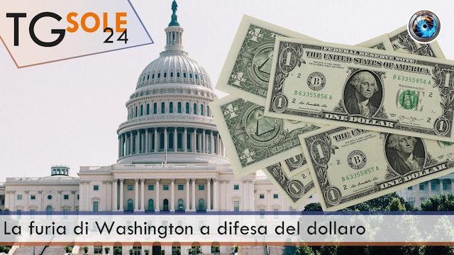 TgSole24 29.03.21 | La furia di Washington a difesa del dollaro