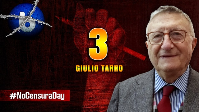 #NoCensuraDay DALLA SIEROTERAPIA UNA SPERANZA - Giulio Tarro