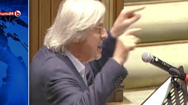 """SGARBI SULLO STATO DI EMERGENZA: """"UNA..."""