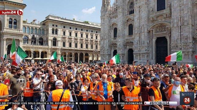 IN ITALIA SITUAZIONE PESANTE E CITTAD...