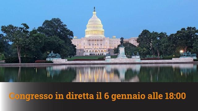 3-1-2021 Congresso in diretta il 6 gennaio 2021 - MN #67A
