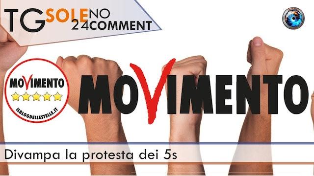 TgSole24 NoComment - 18.02.21 | Divampa la protesta dei 5S