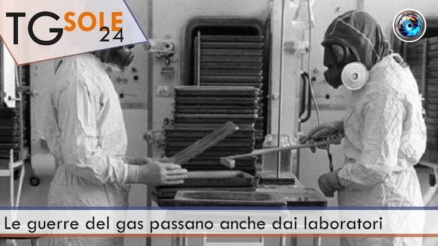 TgSole24 8.04.21 | Le guerre del gas passano anche dai laboratori