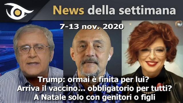 TRUMP: Ormai è finita per lui? - News Settimana 7-13 Nov 2020