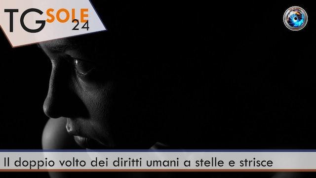 TgSole24 25.03.21 | Il doppio volto dei diritti umani a stelle e strisce