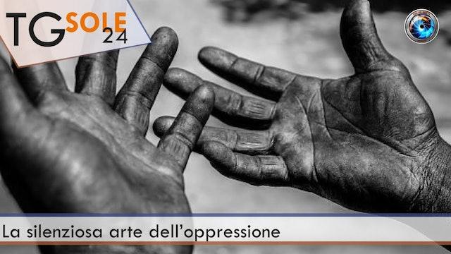 TgSole24 22.02.21 | La silenziosa arte dell'oppressione